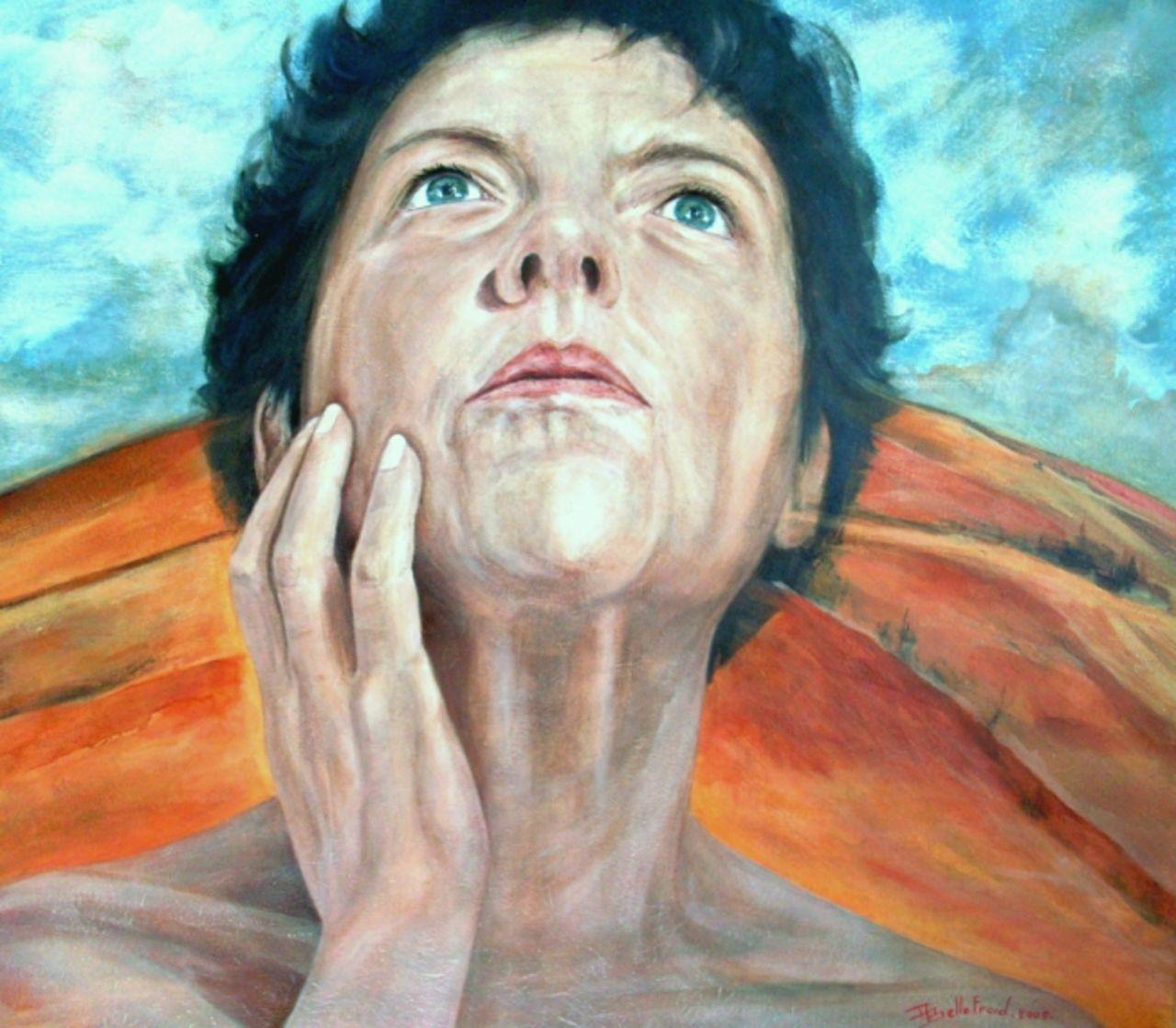 Danielle Bellefroid Autoportrait