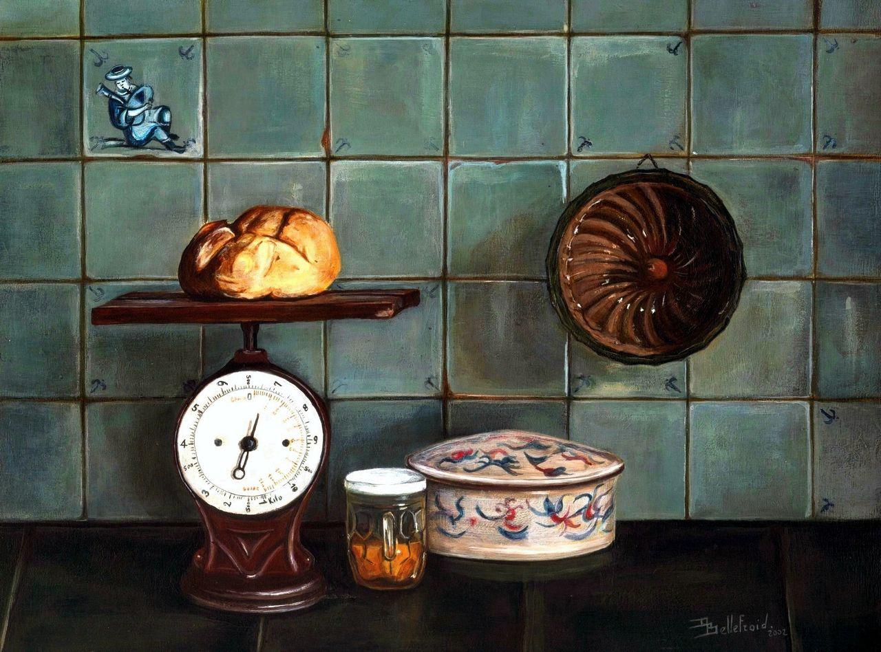 Danielle Bellefroid Du pain et du miel ( vendue )