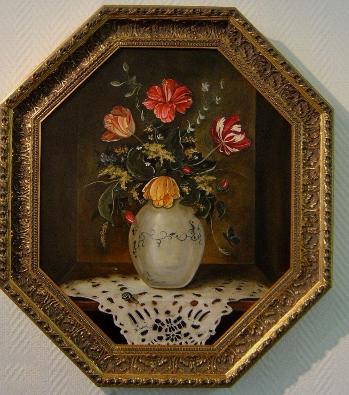 Danielle Bellefroid Fleurs octogonales