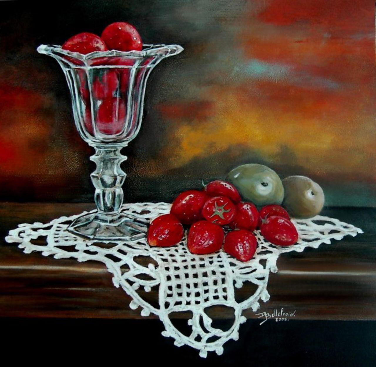 Danielle Bellefroid la coupe de fraises