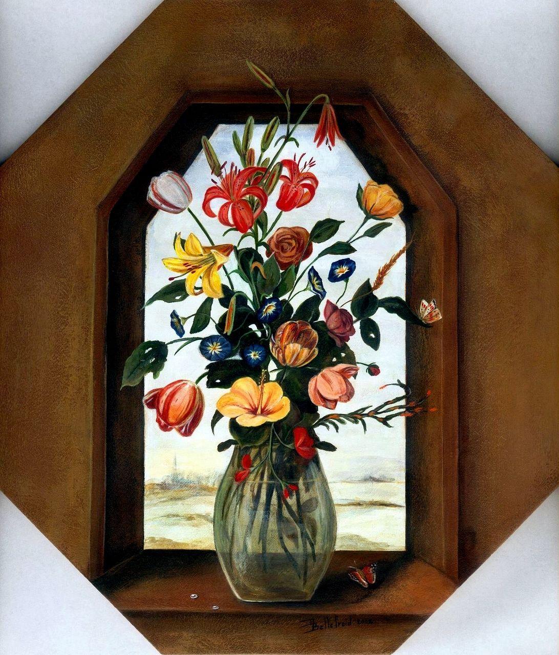 Danielle Bellefroid veluda et petit bouquet