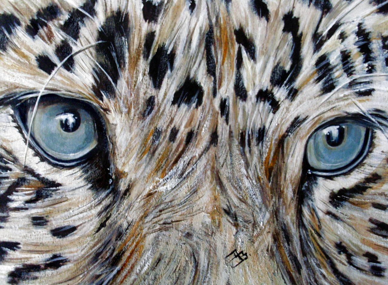 Danielle Bellefroid Blue eyes 1  (vendue)