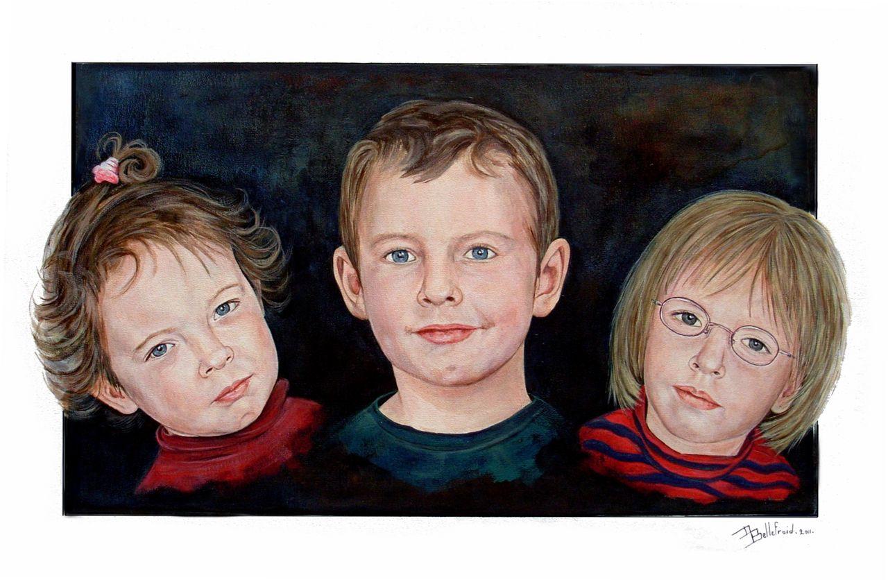 Danielle Bellefroid Ils étaient trois petits enfants