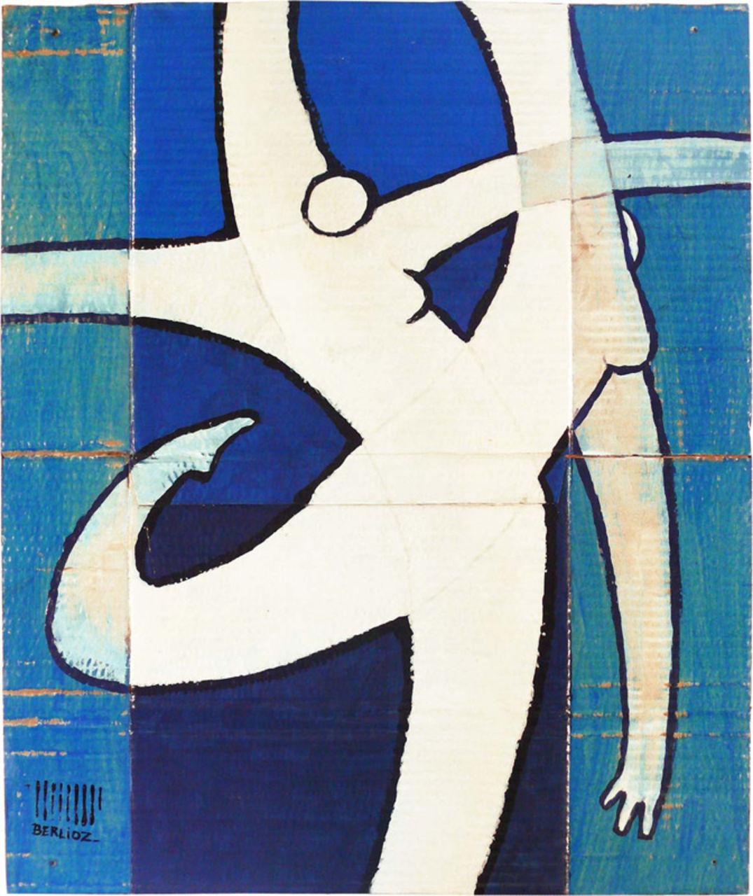 David BERLIOZ Bleu danse