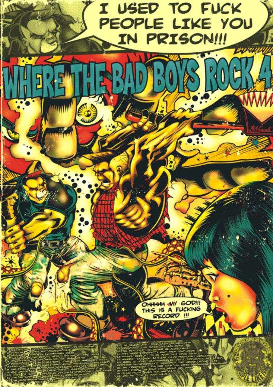 David  Vicente Poster WHERE THE BAD BOYS ROCK 4