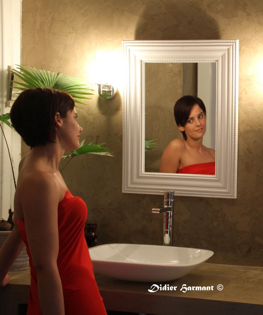 Didier Harmant Miroir au rouge