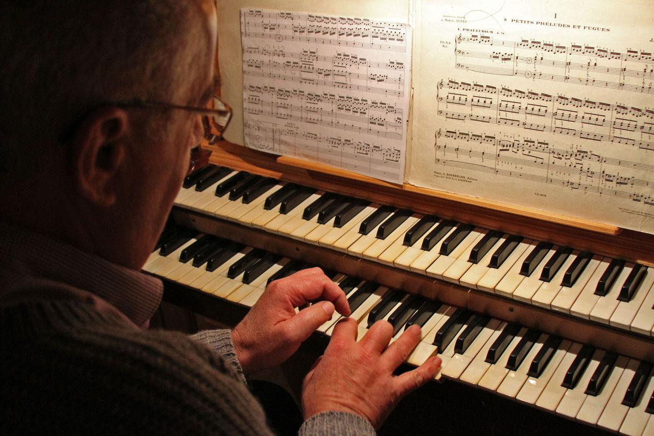 Didier Harmant Joueur d'orgue