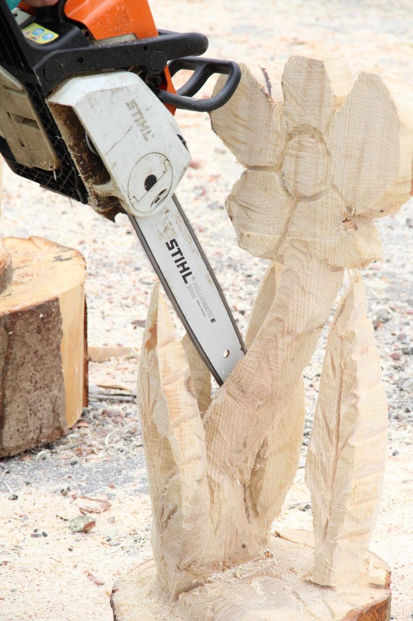 Didier Harmant Sculpture à la tronçonneuse