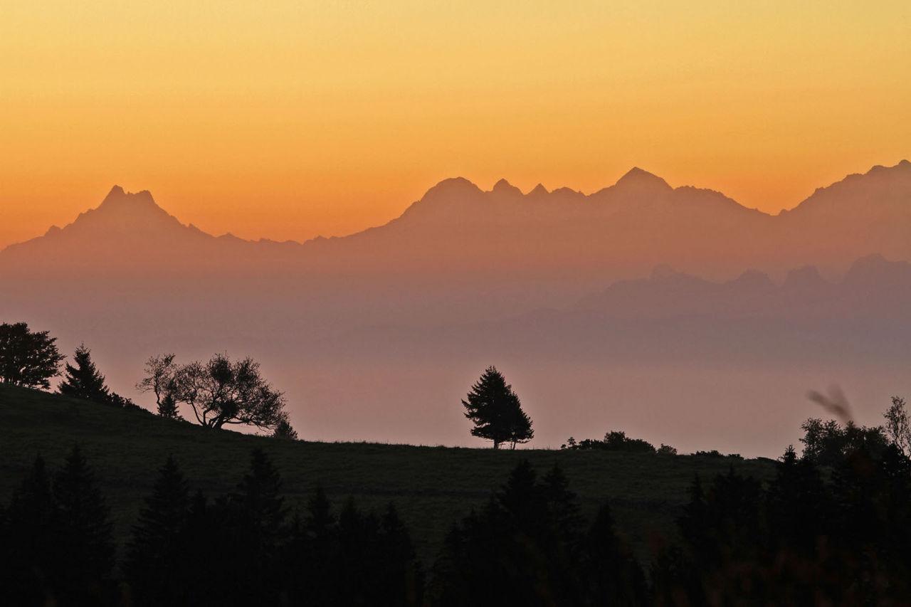 Didier Harmant Alpes au coucher du soleil