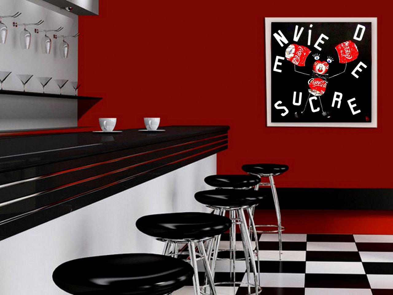 Dominique Balouet Art Besoin de sucre