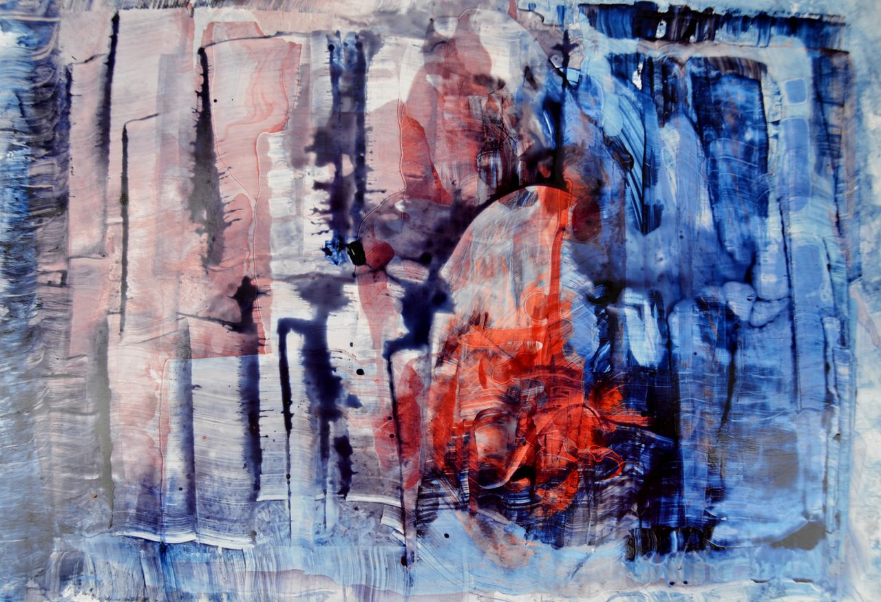 Elisabeth Mounic N 375 série Fenêtre sur...VII