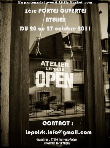 1ères Portes ouvertes atelier LEPOLSK