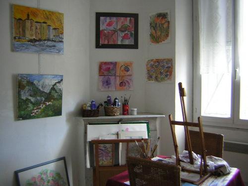 Atelier-galerie Brigitte-Noelle