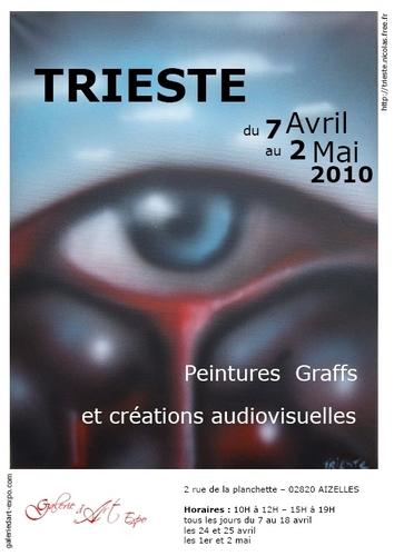 Peintures, graffs et créations audiovisuelles de Trieste