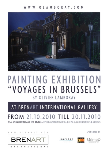 """ Voyages in Brussels"""