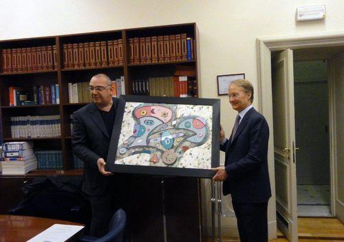 Acquisita un'opera di Andrea Benetti nella Collezione della Camera dei Deputati