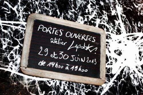 """ATELIER """" PORTES OUVERTES"""" les29/30 JUIN 2013"""