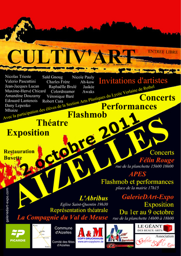 CULTIV'ART - Invitations d'artistes