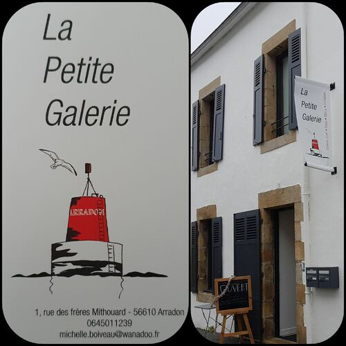 "EXPO PERMANENTE / ""La Petite Galerie"" ( Morbihan) ARRADON 56610"