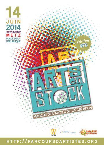 EXPOSITION AU SALON  ART EN STOCK