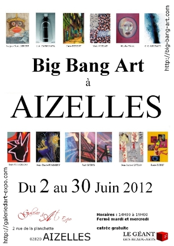 exposition Big-Bang-Art à Aizelles