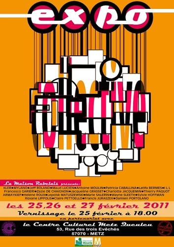 Exposition Collective au CCMQ de METZ