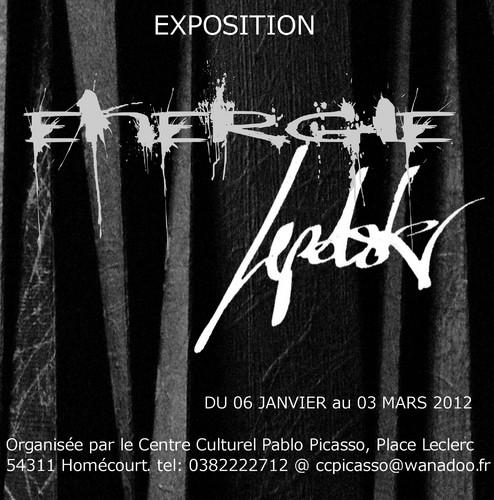 """Exposition  """"ENERGIE""""  expressionnisme abstrait par Lepolsk MATUSZEWSKI"""