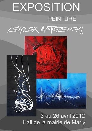 EXPOSITION expressionnisme abstrait  Lepolsk Matuszewski