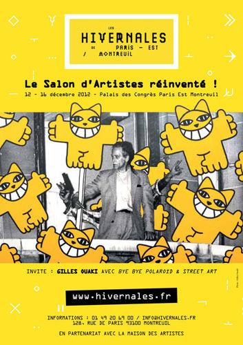 Exposition Martine BELFODIL au Palais des Congres Paris Est Montreuil