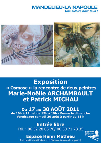 "Exposition ""OSMOSE"""