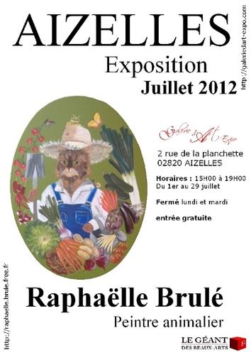 exposition Raphaëlle Brulé