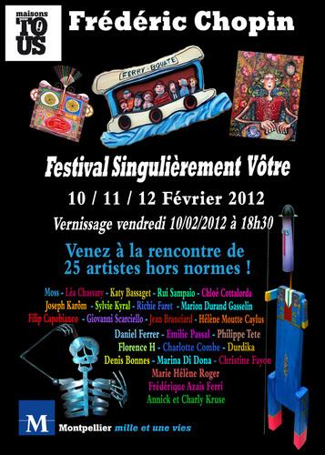 Festival d'art Singulier «Singulièrement vôtre»