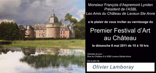 Premier Festival d'Art au Château