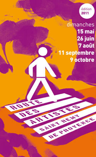 Route des artistes , 15 mai- 26 juin – 7 aout – 11 septembre .