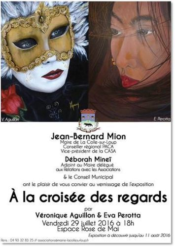 Vernissage à la Colle sur Loup