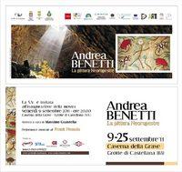"""""""ANDREA BENETTI • LA PITTURA NEORUPESTRE"""" - Ritorna la pittura nelle grotte"""