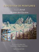 Danielle ARNAL, peintre des Glaciers