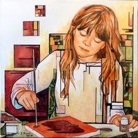 Expo peinture Danielle Arnal