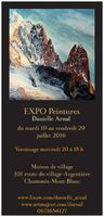 Expo Peintures Danielle Arnal