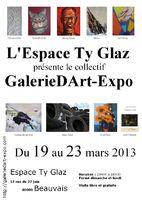 exposition à l´Espace Ty Glaz à Beauvais