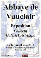 exposition d'art contemporain à l'Abbaye de Vauclair
