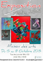 Exposition de tableaux contemporains - Martine BELFODIL