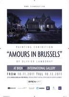 "Exposition peinture "" Amours In Brussels "" par Olivier Lamboray"