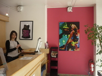 Exposition peinture Medeya Lemdiya à Movida Toulouse