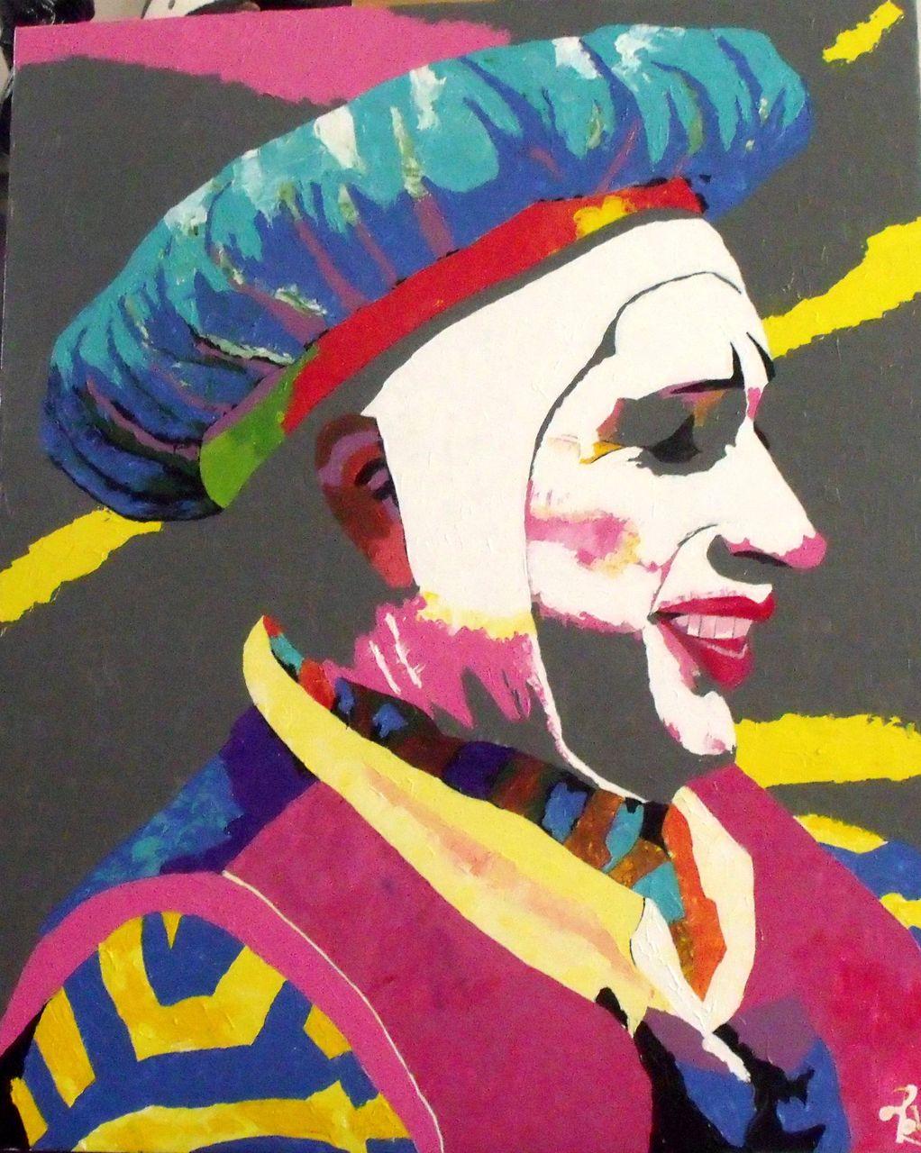 fabrice Daluseau ha ha said the clown