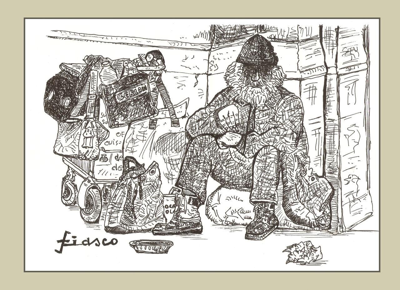 FIASCO L'homme au caddie