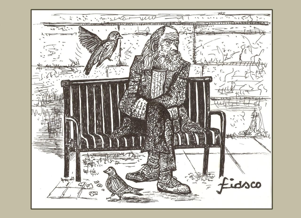 FIASCO Le vieil homme et les pigeons