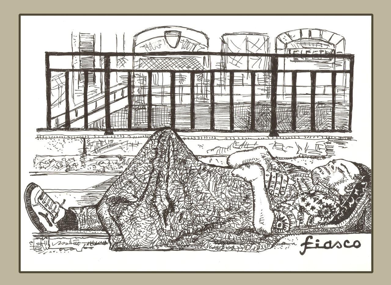 FIASCO The blanket man
