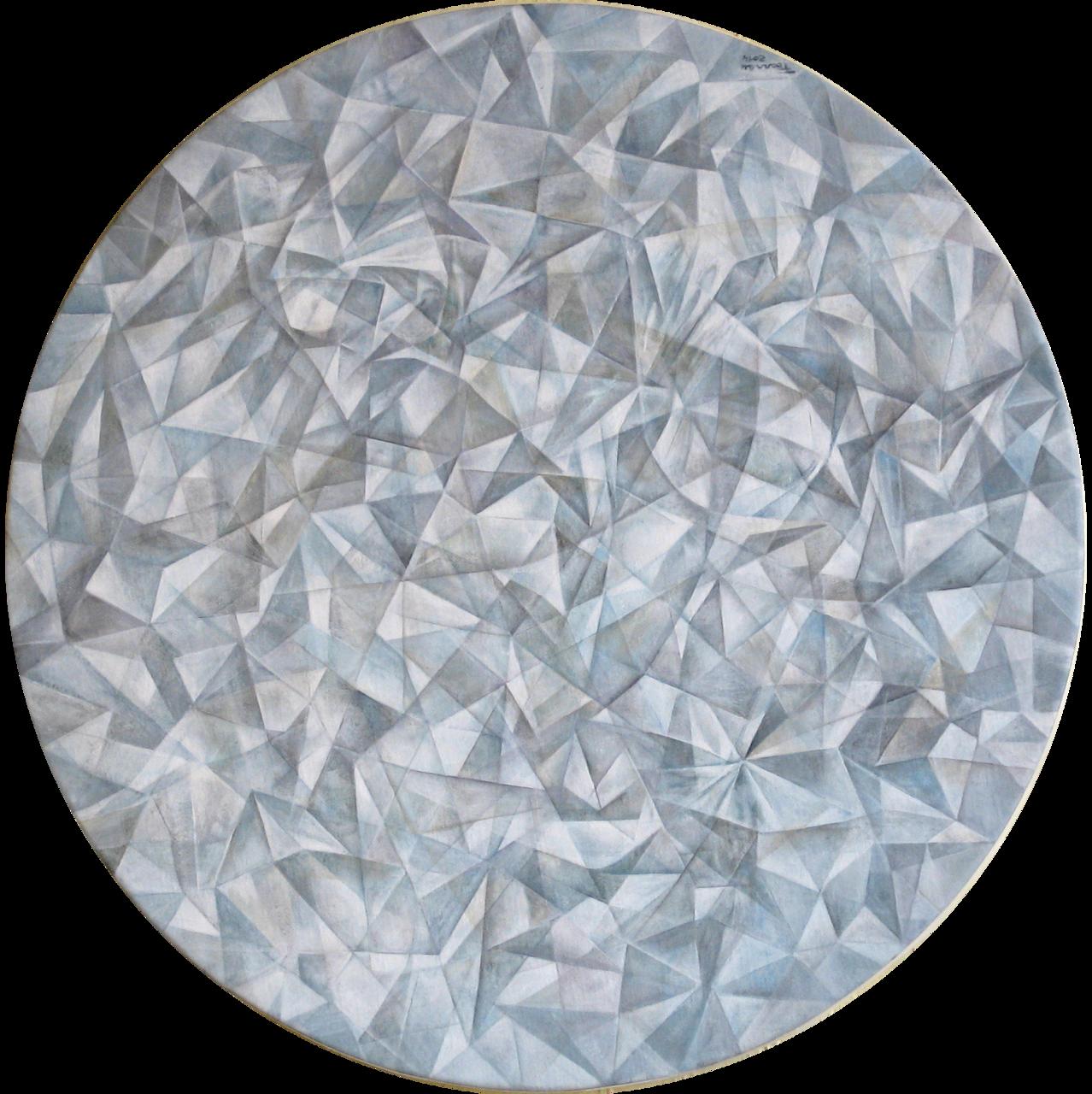 Frédéric Barrau Origami blanc