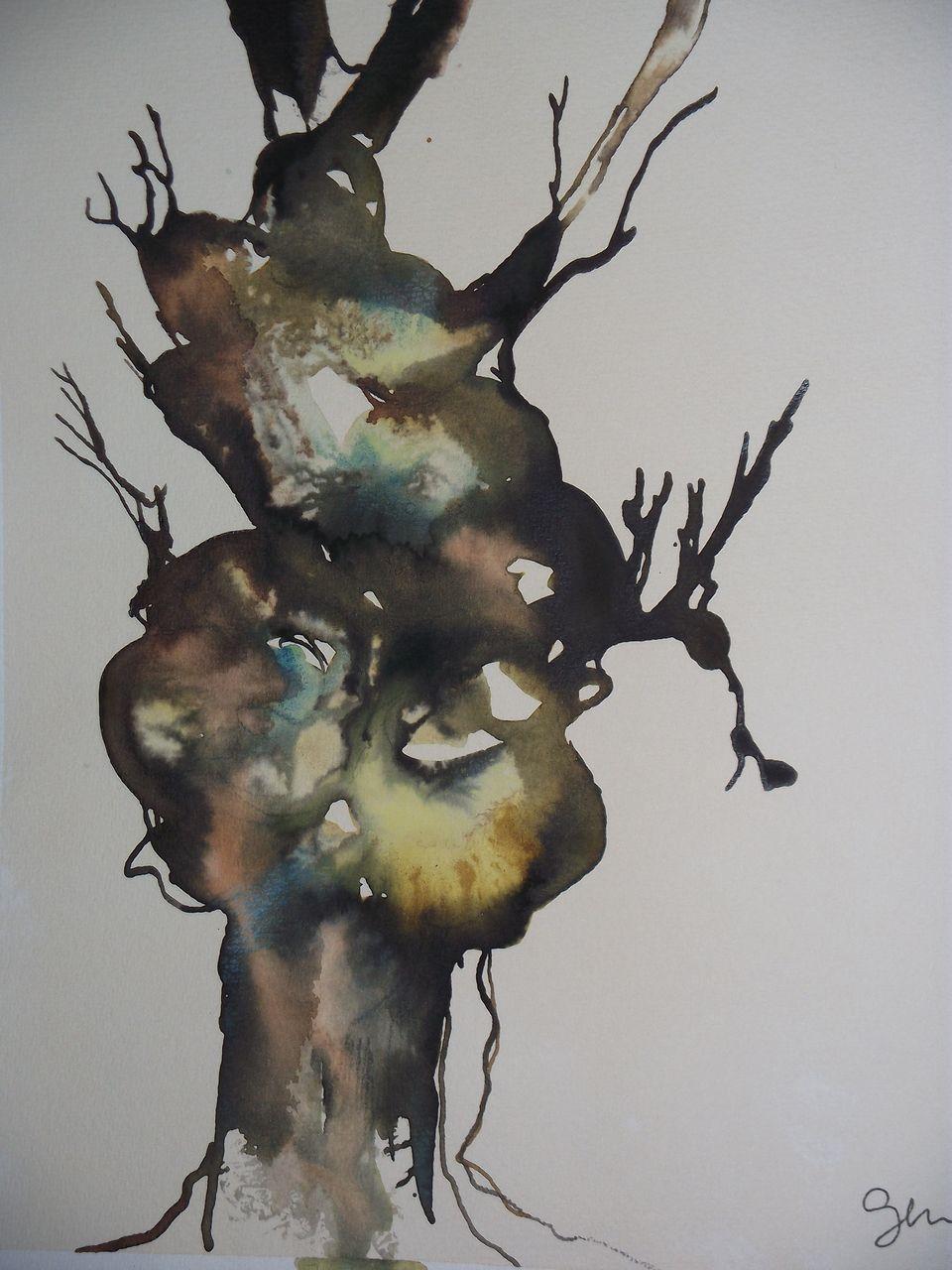 genevieve Bonnet-Cadith arbre  toutes couleurs dehors